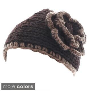 Kate Marie 'Bella' Contrast Edging Beanie Headband