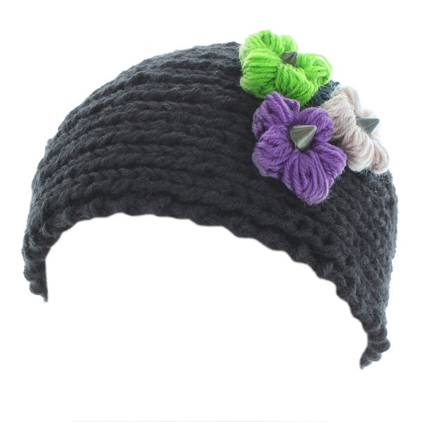 Kate Marie 'Aria' Pyramid Knit Headband