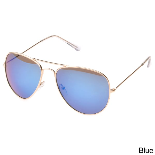 EPIC Eyewear 'Bartonville' Double Bridge Aviator Sunglasses