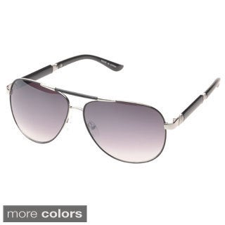 EPIC Eyewear 'Ashville' Double Bridge Aviator Sunglasses