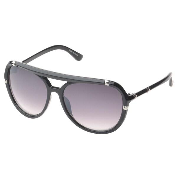 EPIC Eyewear 'Bayville Double Bridge Aviator Sunglasses
