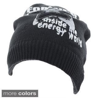 Faddism 'Brandon' Forever Star Knit Beanie Cap