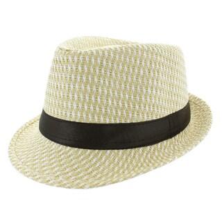 Faddism Beige Fedora Hat