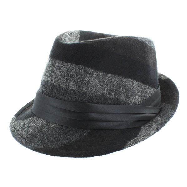 Faddism Patterned Fedora Hat