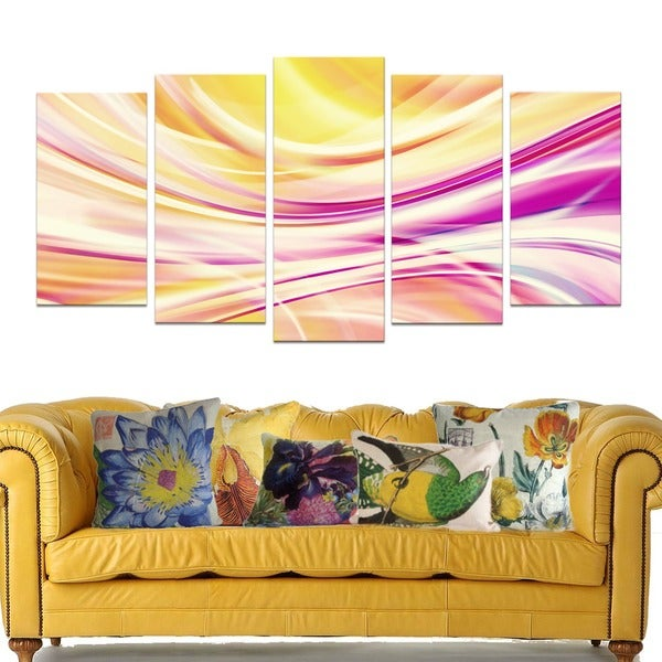 Candy Stripes Canvas Print Set