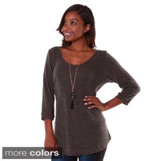 Hadari's Women's Mid-sleeve Sweater Top