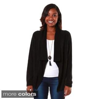 Hadari's Women's Shawl Collar Cardigan