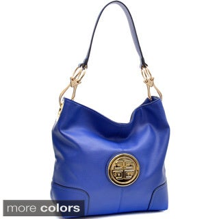 Dasein Soft Emblem Tote with Removable Strap