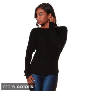 Hadari Women's Dolman Sleeve Sweater Top