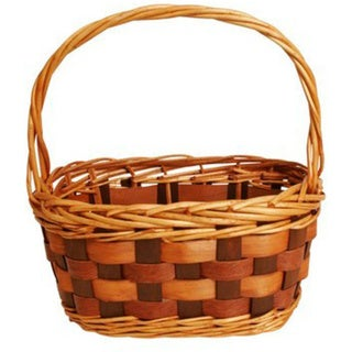 Willow and Woodchip Basket