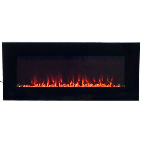 Northwest LED Fire and Ice Electric Fireplace with Remote