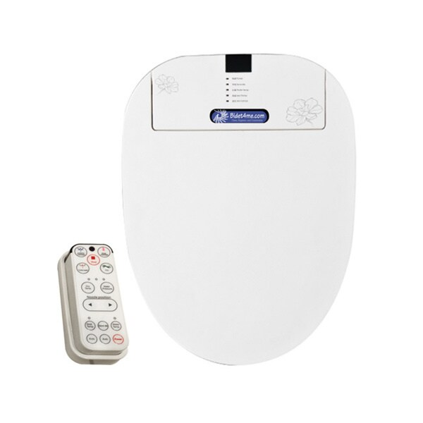 Electronic Remote Control Toilet Seat Elongated Bidet