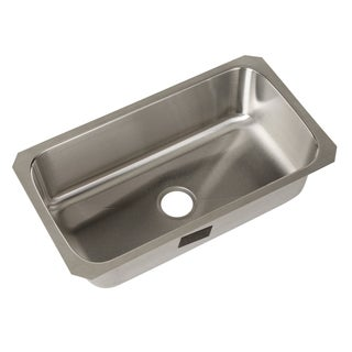 Sterling Carthage 0-hole Single Bowl Kitchen Sink