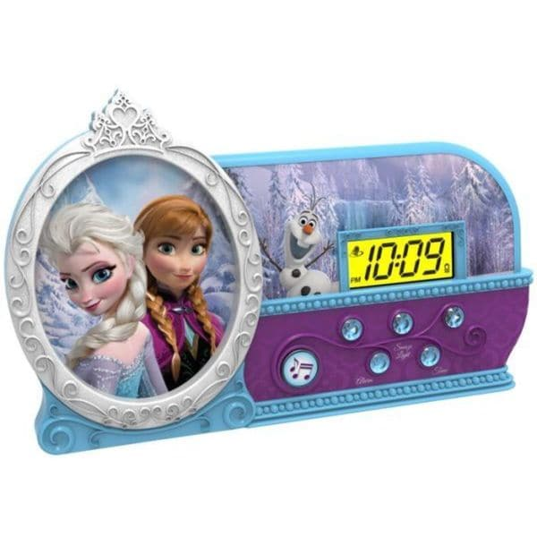 Disney's Frozen Alarm Clock with Sleep Timer Night Light
