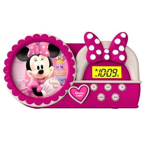 Minnie Mouse Bow-Tique Alarm Clock