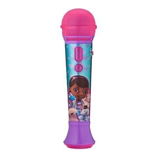 Doc McStuffins Rockin Sing-Along MP3/Smartphone Microphone w/Flashing Lights & Built-In Songs