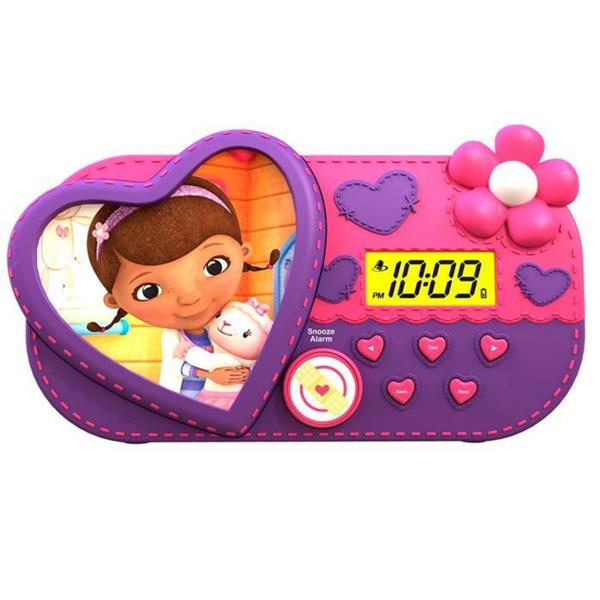 Doc McStuffins Alarm Clock with Sleep Timer Night Light