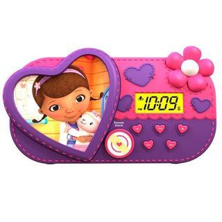 Doc McStuffins Alarm Clock with Sleep Timer Night Light