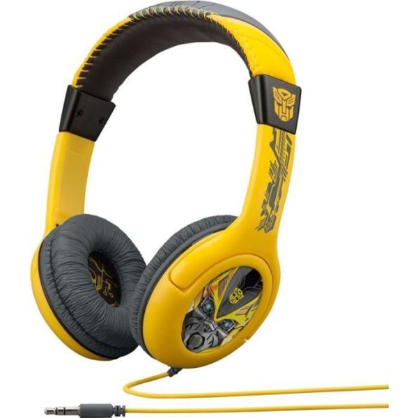 Transformers Cybertronic Adjustable Youth Over-ear Headphones