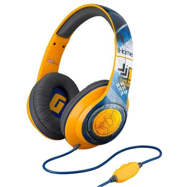 Guardians of the Galaxy Adjustable Over-ear Headphones with Built-in Mic