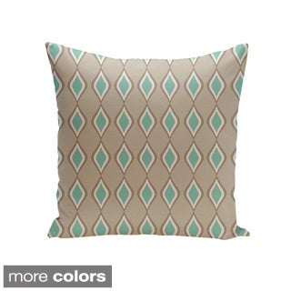 Geometric Decorative Throw Pillow 18 x 18-inch