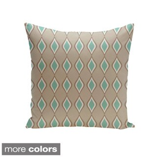 Geometric Decorative Throw Pillow 16 x 16-inch