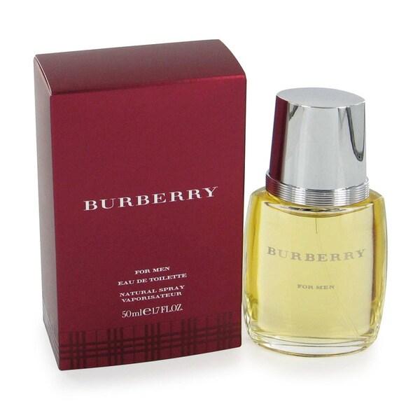 Burberry Classic Men's 1.7-ounce Eau de Toilette Spray