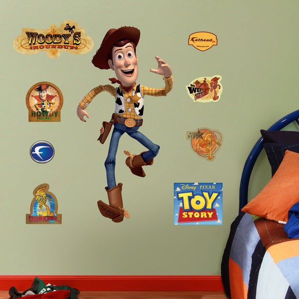 Fathead Jr. Toy Story Woody Wall Decals