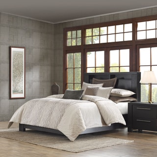 Metropolitan Home Eclipse 3-piece Taupe Duvet Cover Set