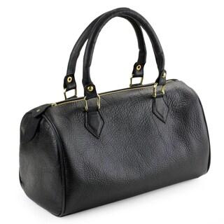Leather 'Guadalajara' Baguette Handbag (Mexico)