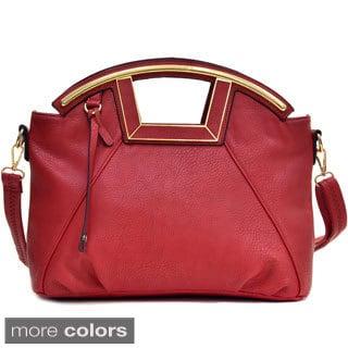 Dasein Soft Faux Leather Shoulder Bag