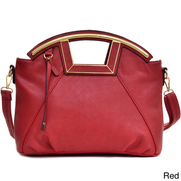 Dasein Soft Faux Leather Shoulder Bag