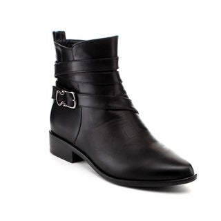 Reneeze Lucia-01 Women's Wrapped Strap Ankle Boots
