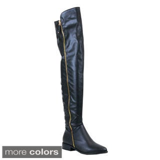 Reneeze Lucia-02 Women's Over-The-Knee-High Riding Boots
