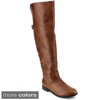 Reneeze Liz-02 Women's Over-The-Knee-High Riding Boots