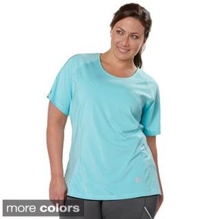 Live Life Large Women's Plus Size Solid T-shirt