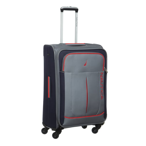 Nautica Fairwind 24-inch Medium Expandable Spinner Upright Suitcase