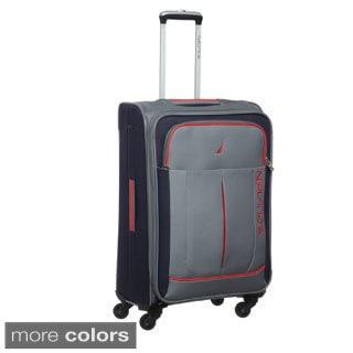 Nautica Fairwind 24-inch Medium Expandable Spinner Upright Suitcase