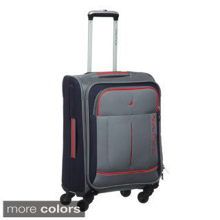 Nautica Fairwind 19-inch Expandable Carry On Spinner Upright Suitcase