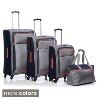 Nautica Fairwind 4-piece Spinner Luggage Set