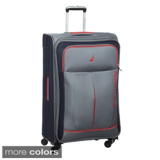 Nautica Fairwind 28-inch Large Expandable Spinner Upright Suitcase