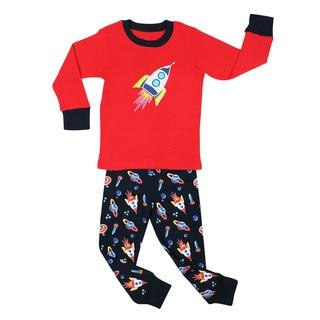 Elowel Rocket 2-piece Pajama Set (Size 2T-8Y)