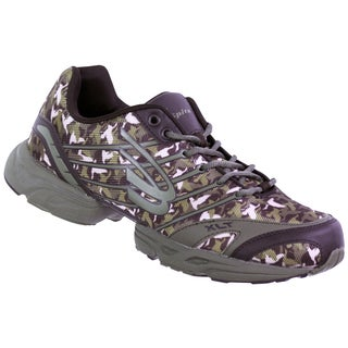 Duck Dynasty by Spira Men's Olive/ Brown Camo Running Shoes