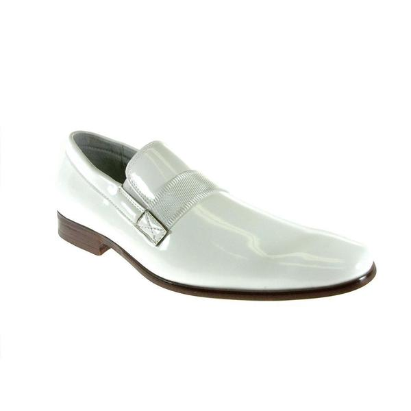 Ferro Aldo Men's Patent Leather Loafers