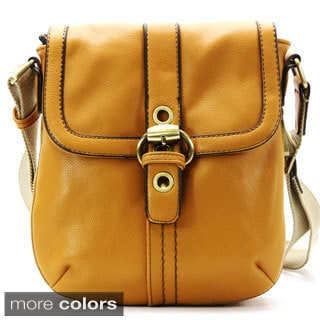 David Jones Mustard Veulent Avoir Cross-body Bag