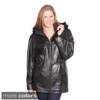 Christian Reed Women's Sonia Leather Coat