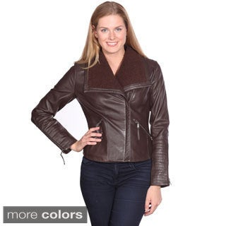 NuBorn Leather Women's Jade Leather Jacket
