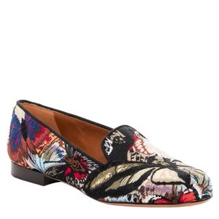 Valentino Women's 'Camubutterfly' Patterned Loafers