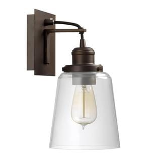 Capital Lighting Urban 1-light Burnished Bronze Wall Sconce