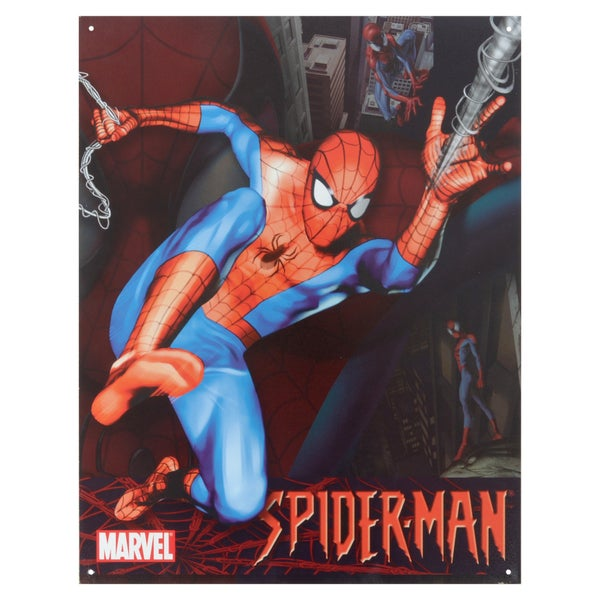 Vintage Metal Art 'Spider-Man' Decorative Tin Sign 14301210